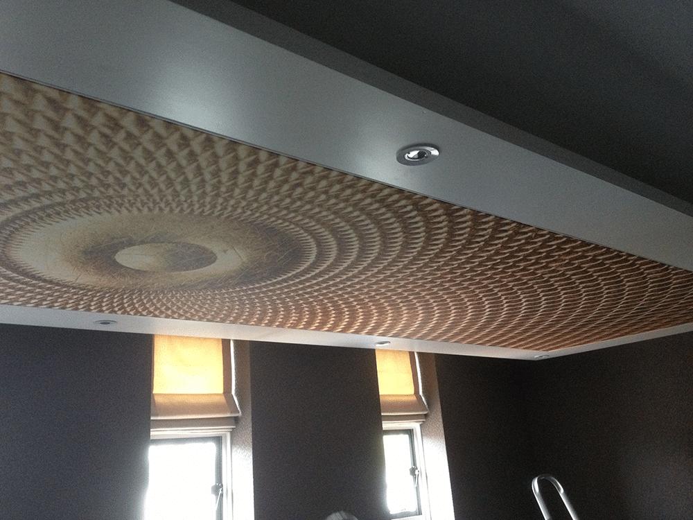 Naadloos Plafond Badkamer : Spanplafonds marcel wesseling